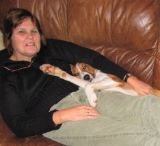 Me and R on couch
